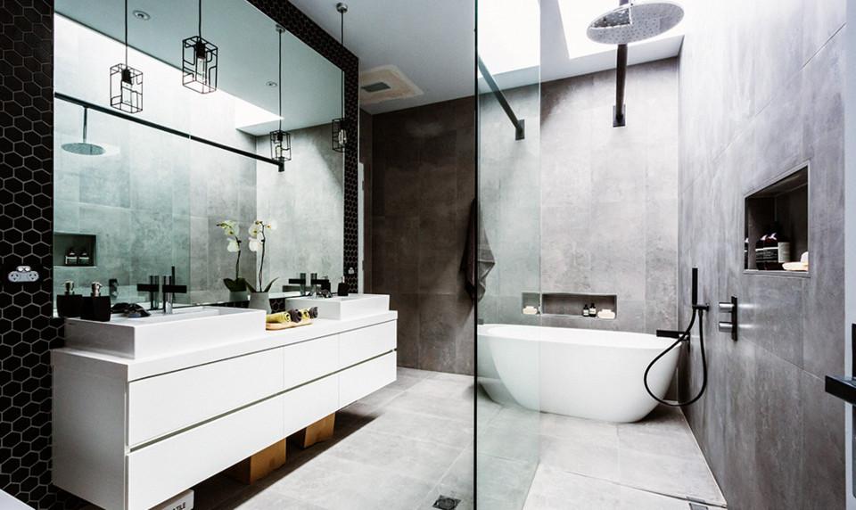 beautifully designed bathroom
